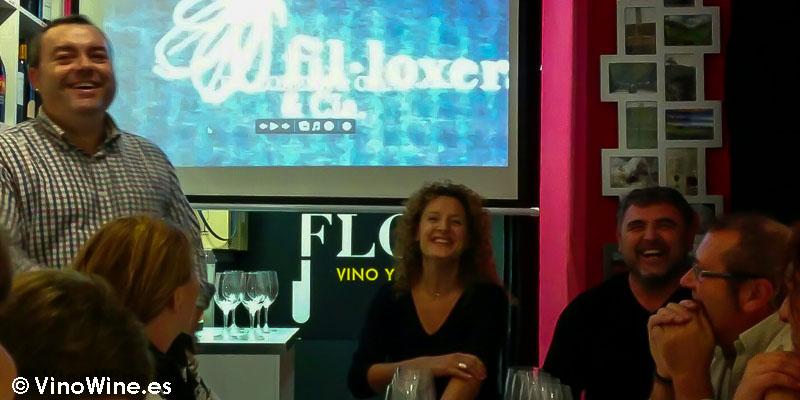 Presentan los de Fil·loxera & Cía en Tiza y Flor