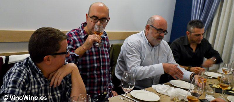 Catando el vino de Ramico Valle del Botijas