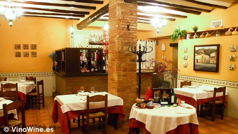 Sala de Casa el Tio David en Alfafara Alicante