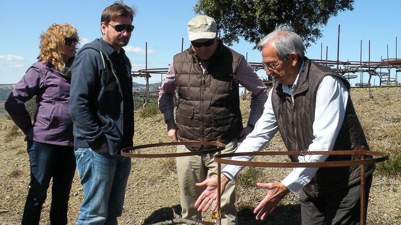 Aprendiendo de José Luis Pérez de Mas Martinet en el Priorat