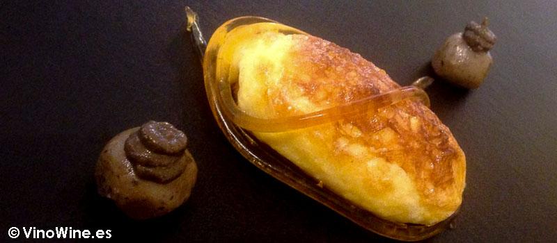 Lienzo 2 Centolla con mantequilla de Diverxo en Madrid