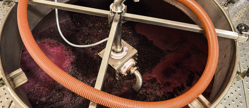 Remonte durante la fermentación