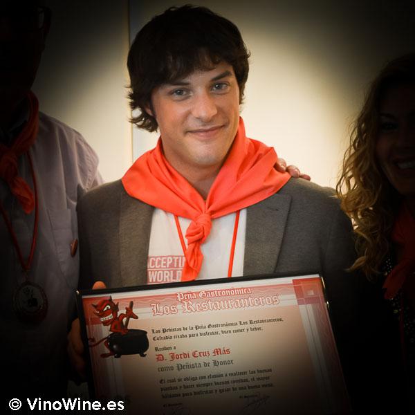 Jordi Cruz nombrado Restaurantero de Honor 2015 en Barcelona