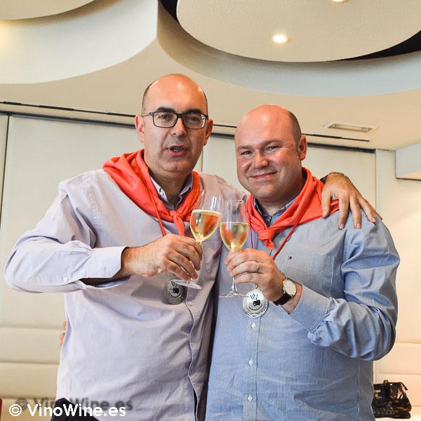 Presidente y Vicepresidente de los Restauranteros en Barcelona
