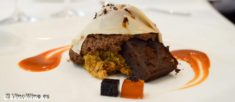 Belga ale Chocolate cafe aceituna negra y toffe de L'Angle en Barcelona