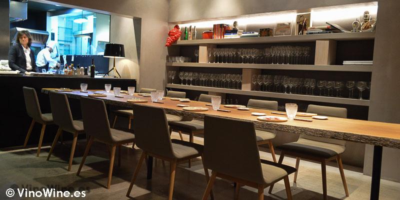 Cocina a la vista de Ricard Camarena en Valencia
