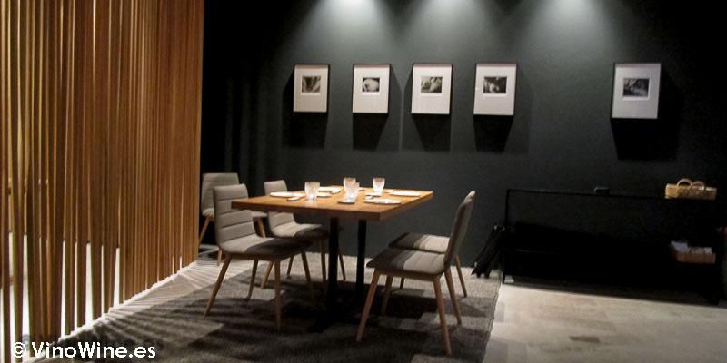 Detalle de sala de Ricard Camarena en Valencia