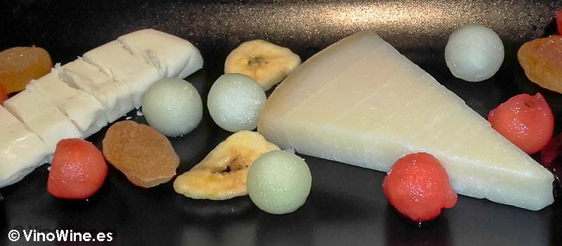 Selección de quesos de Audrey's en Calpe