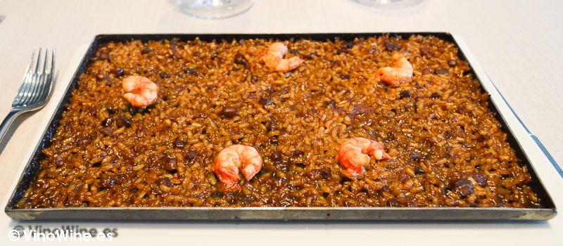 Arroz de senyoret del Rice Restaurant by Kiko Moya y Alberto Redrado en Finestrat