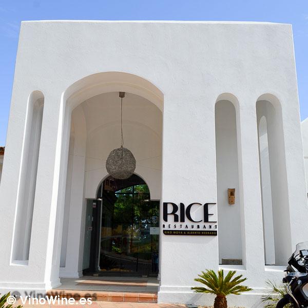 Fachada del Rice Restaurant by Kiko Moya y Alberto Redrado en Finestrat