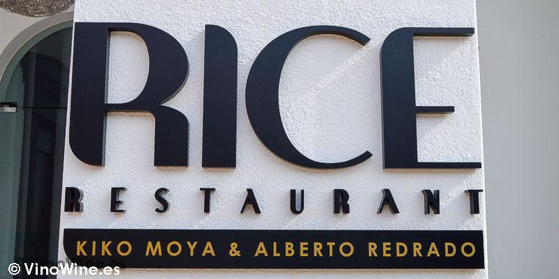 Logo del Rice Restaurant en Finestrat