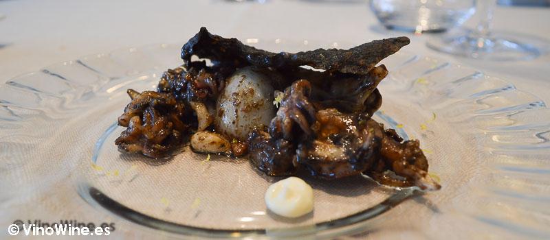 Sepió brut del Rice Restaurant by Kiko Moya y Alberto Redrado en Finestrat