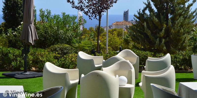Terraza del Rice Restaurant by Kiko Moya y Alberto Redrado en Finestrat