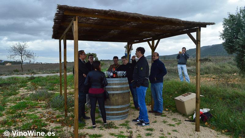 Cata en Bodega Rafael Cambra en Fontanars dels Alforins