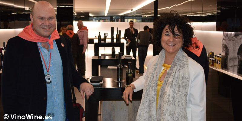Encuentro Restauranteros en Alcoy Jose Ruiz y Ana Juan
