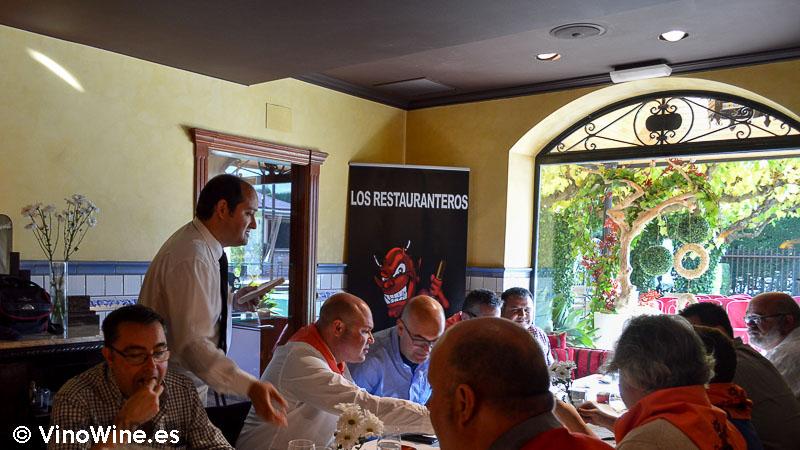 Encuentro Restauranteros en Alcoy con Alberto Redrado de L'Escaleta