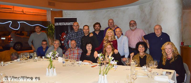 Encuentro Restauranteros en Alcoy con orge Sanus en L'Amagatall de Tota