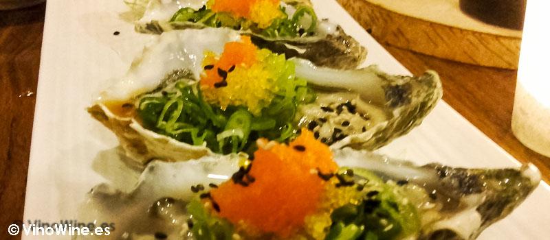 Khaki del Restaurante de comida japonesa Kitsume en Altea