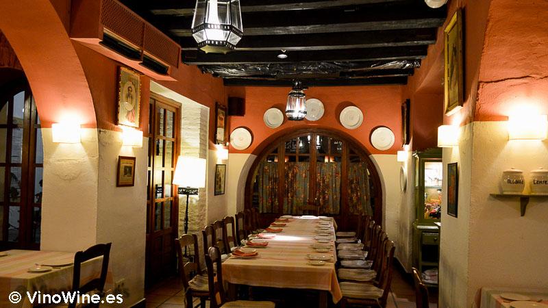 Una de las salas de Restaurante Bodegas Campos en Córdoba