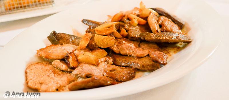 Magre i fetge de Restaurante La Gruta en el Círculo Industrial de Alcoy