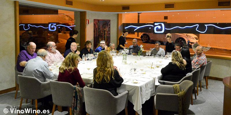Mesa Imperial en el Restaurante L'Amagatall de Tota en Alcoy