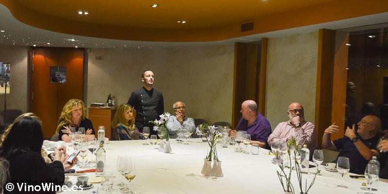 Nos saluda Jorge Sanus de Restaurante L'Amagatall de Tota en Alcoy