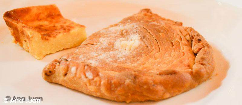 Pastel de carne de Restaurante La Gruta en el Círculo Industrial de Alcoy
