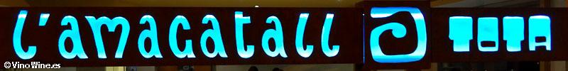 Rótulo de Restaurante L'Amagatall de Tota en Alcoy