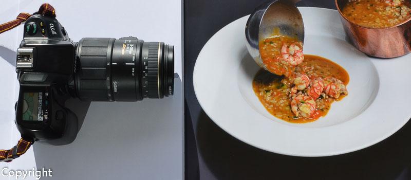 Concurso Fotografía Gastronómica Los Restauranteros con Xavier Mollà
