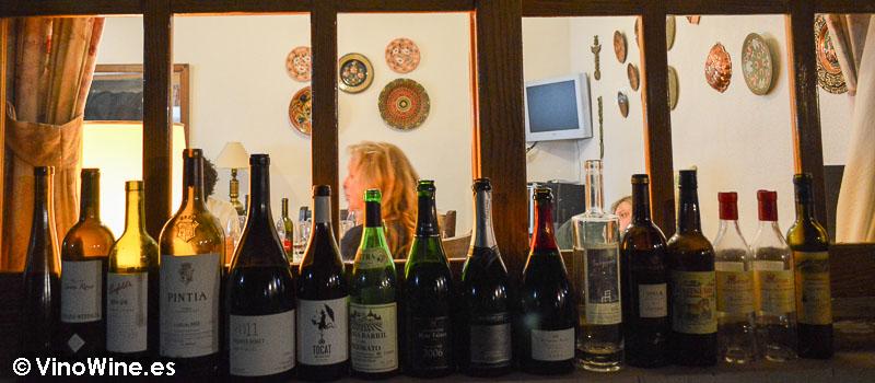 El vino compartido con los amigos botjos pel vi