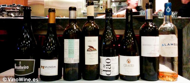 Los vinos en Restaurante Gadhus en Valencia