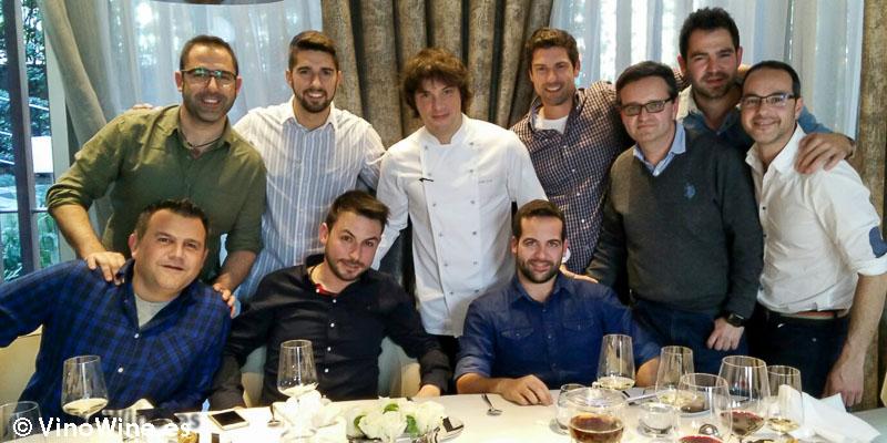 Con Jordi Cruz de Restaurante L'ABaC en Barcelona