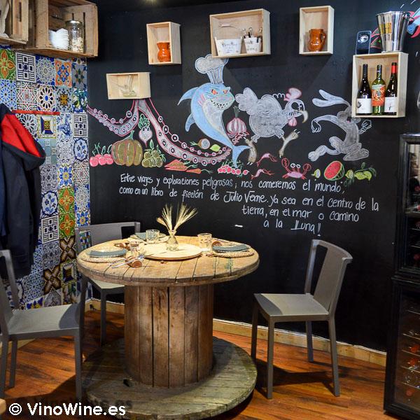 Restaurante Julio Verne en Valencia