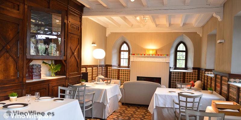 Detalla de uno de los comedores del Restauante el Cenador de Amós en Cantabria