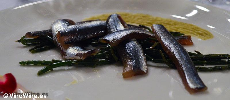Bocartes en salazón de la Cigaleña en Santander