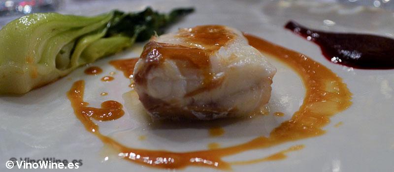 Merluza a la sal de la Cigaleña en Santander