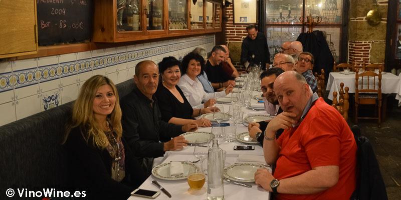 Restauranteros en la Cigaleña en Santander