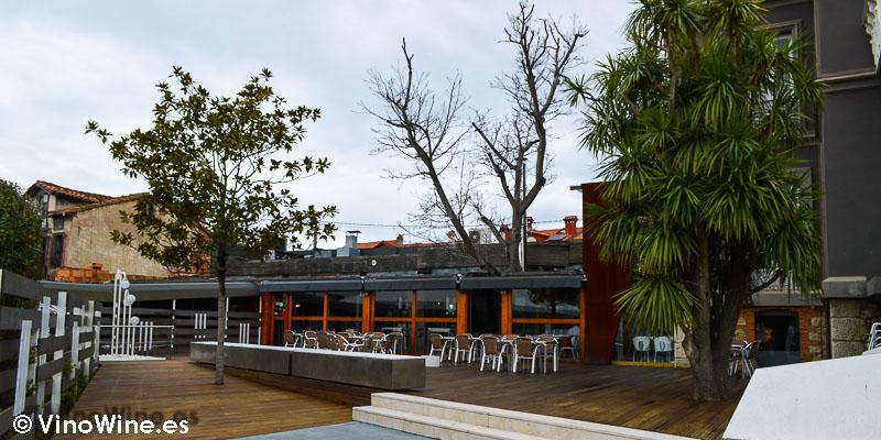 Terraza dle Restaurante la Casona del Judio de Sergio Bastard