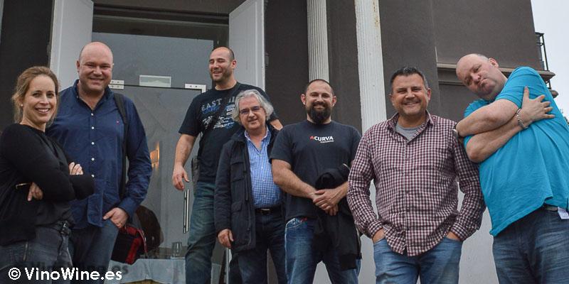 Amigos Tragones en la Casona del Judio de Sergio Bastard
