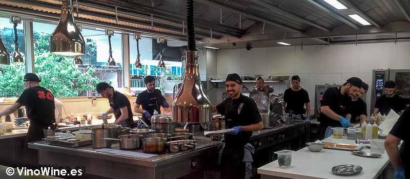 La cocina de Daviz Muñoz en Diverxo