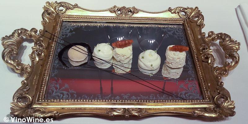 La merienda: Croissant, galletas blancas y sésamo negro de Diverxo con Daviz Muñoz