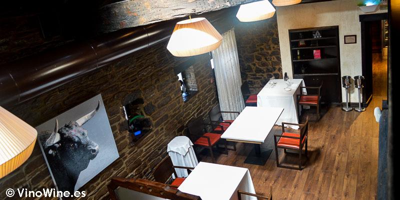 Comedor planta baja del Restaurante Casa Gerardo en Prendes Asturias