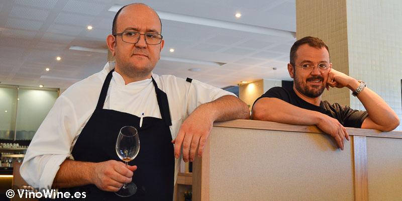 Santi y Ximo, porpietarios de La Cuina Restaurant en Ontinyent