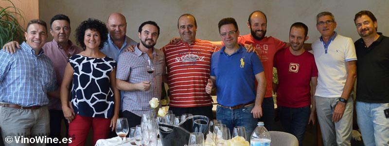 Bojos pel Vi en el Restaurante L'Amagatall de Tota en Alcoy