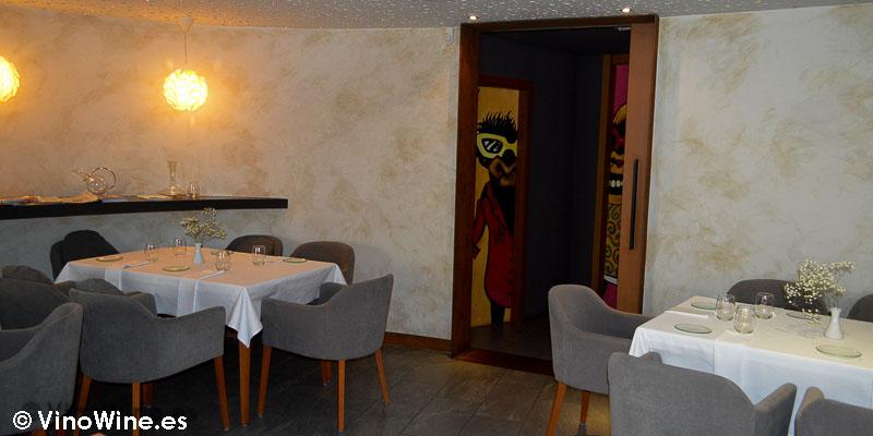 Vista parcial de la sala del Restaurante L'Amagatall de Tota en Alcoy