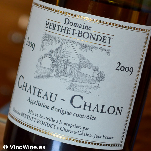 Chateau Chalon 2009 de la Bodega Domaine Berthet Bondet en jura Francia