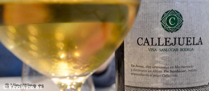Manzanilla Callejuela degustada en el Restaurante El Campero de Barbate
