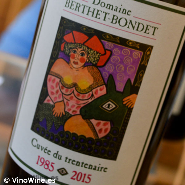 Vino Criaderas Cuvée du Trentenaire 1985 - 2015 de la Bodega Domaine Berthet Bondet en Jura Francia
