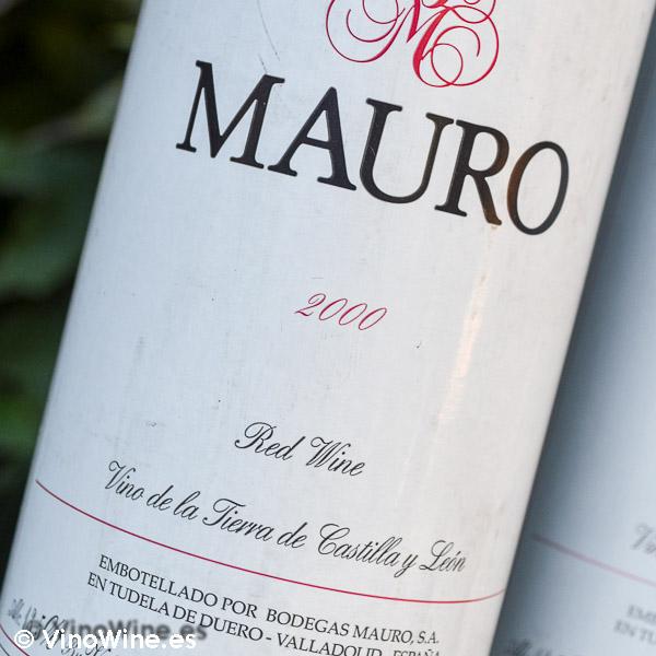 Cata vertical del vino Mauro, cosecha 2000