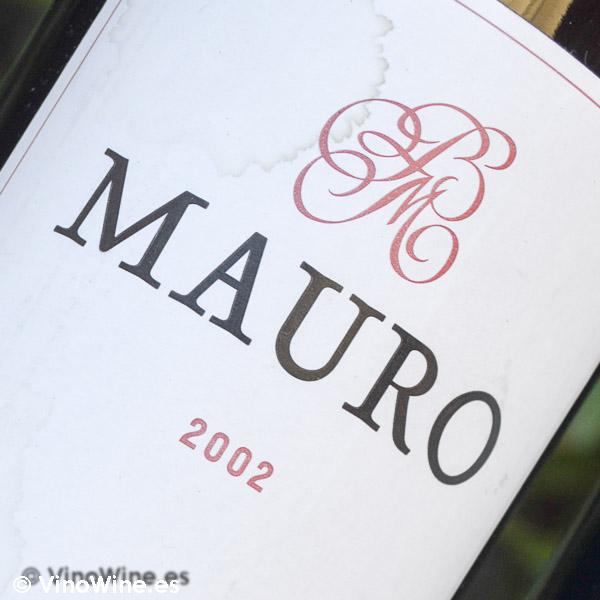 Cata Vertical del vino Mauro, cosecha 2002
